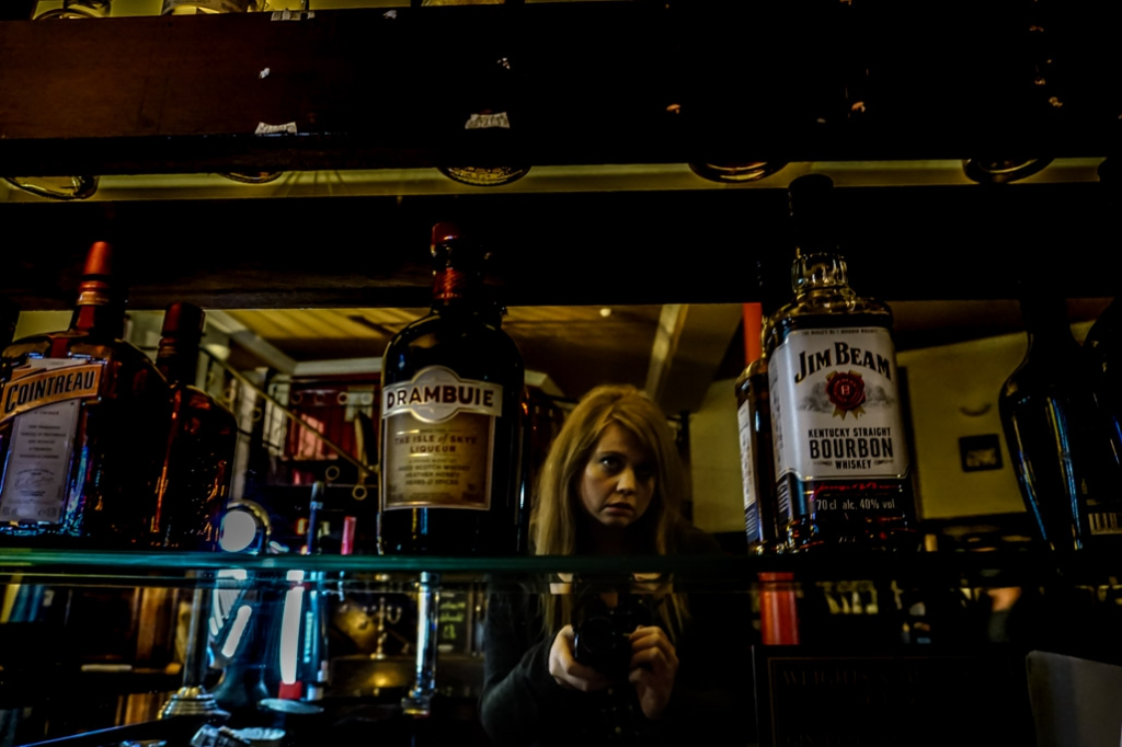 Bar in Cathedral House Hotel haunted by ghosts.
