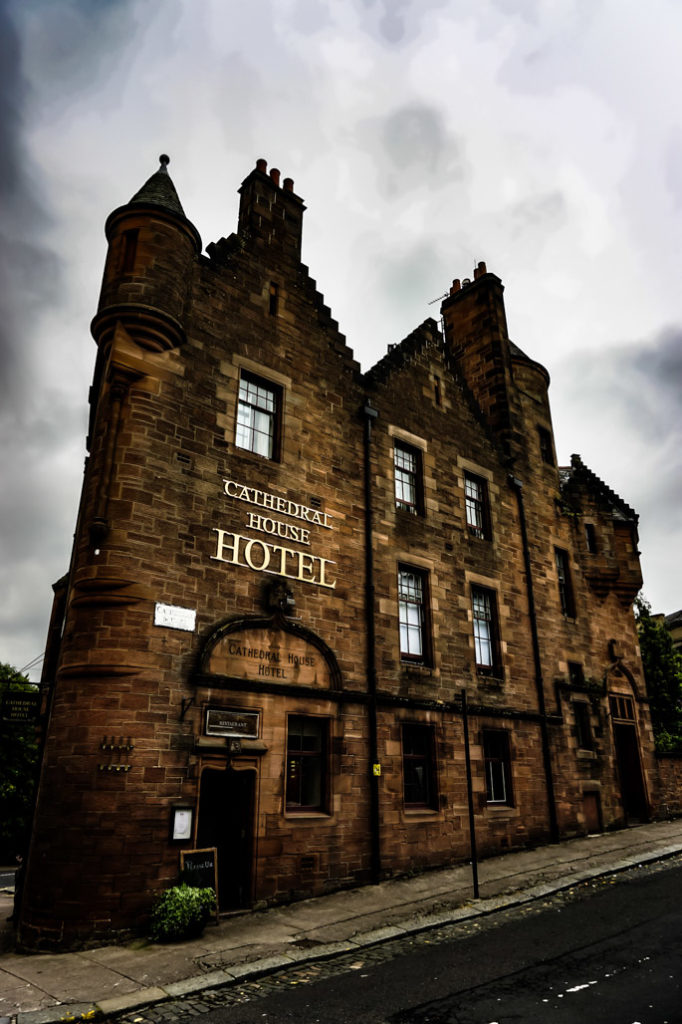 Haunted Cathedral House Hotel Glasgow, Scotland.