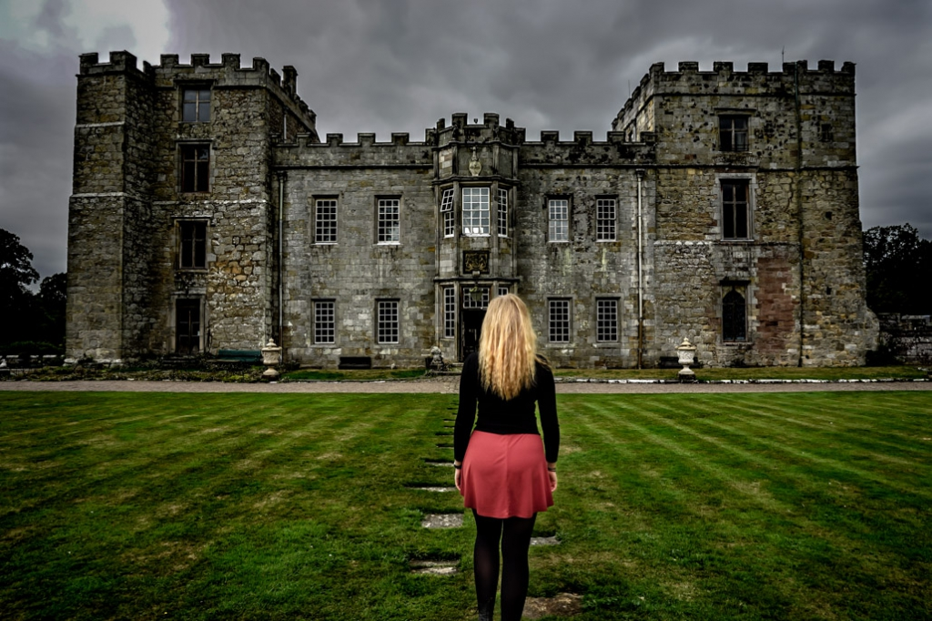Haunted Chillingham Castle, England.