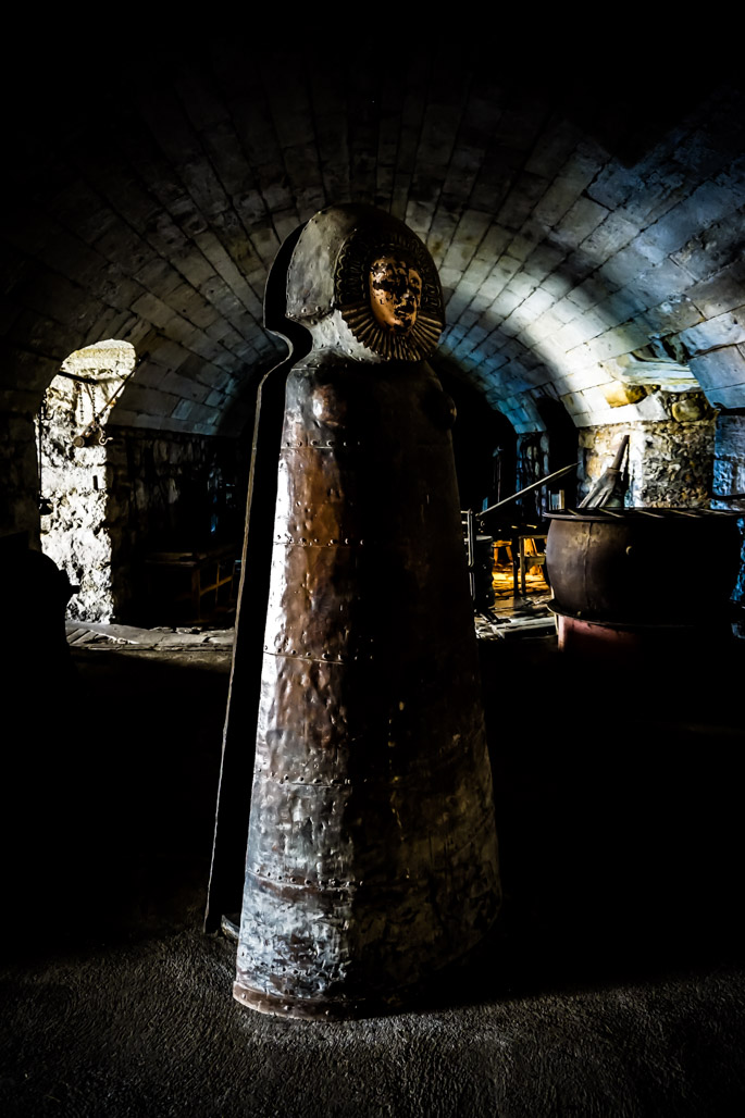 John Sage haunted torture chamber.