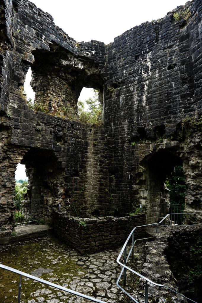 Goblin Tower at Denbigh Castle.