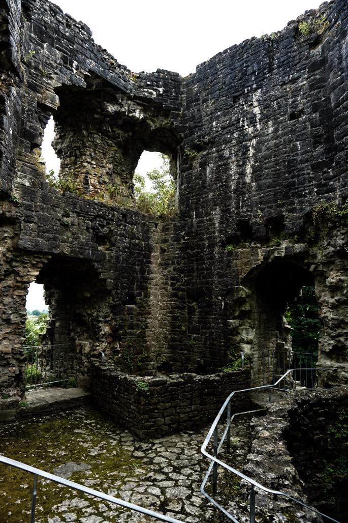 Haunted Goblin Tower of Denbigh Castle.