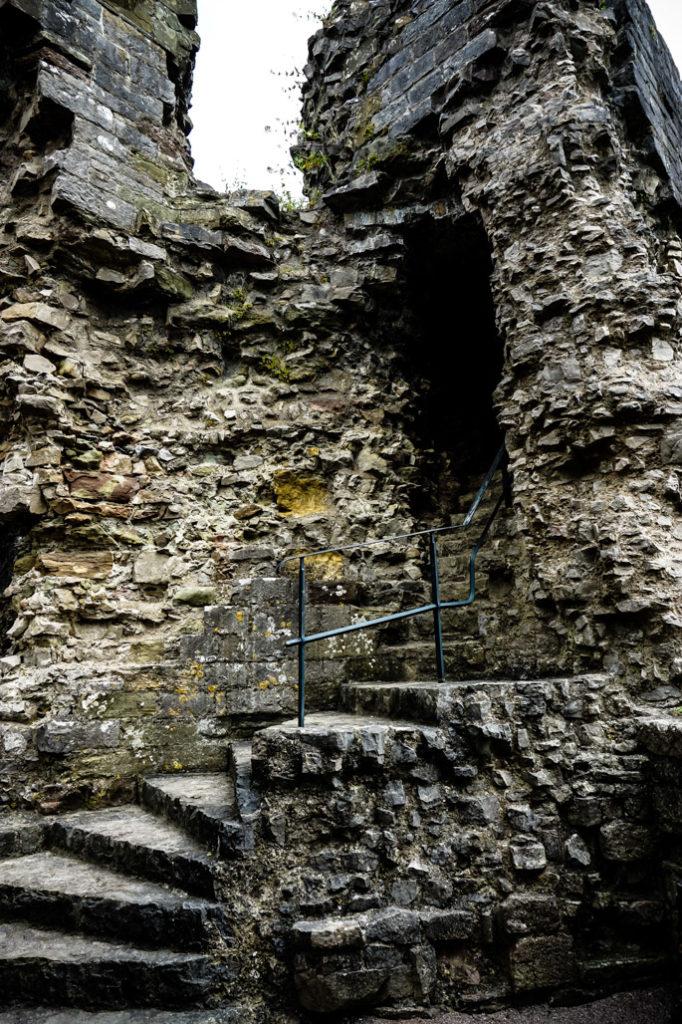 Northern Wales Denbigh Castle.