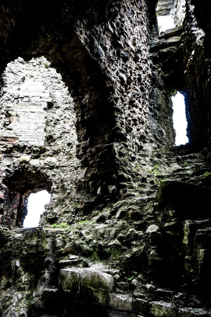 Denbigh Castle, haunted ruins.