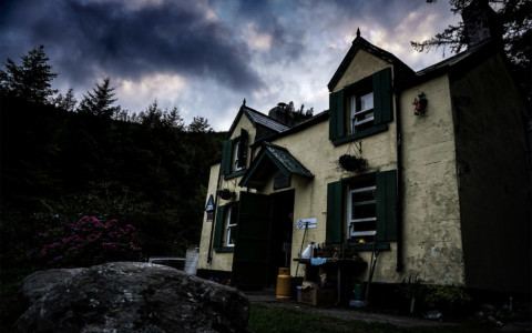 The Haunted Glenmalure Hostel and Valley, Ireland