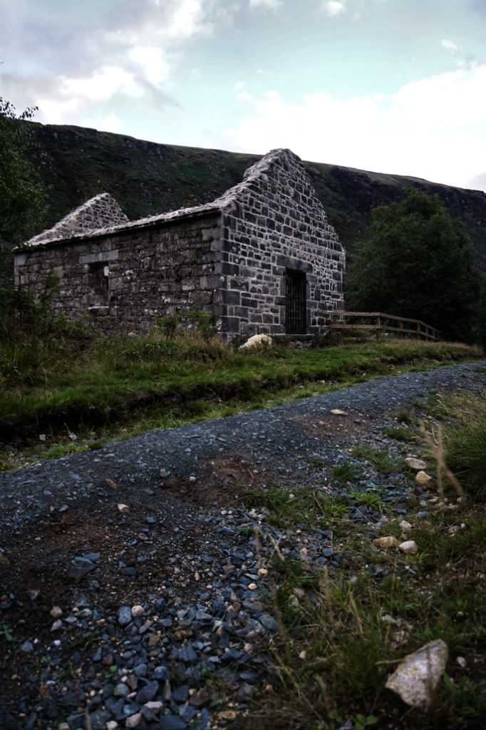 Ruins on Glenmalure trail.