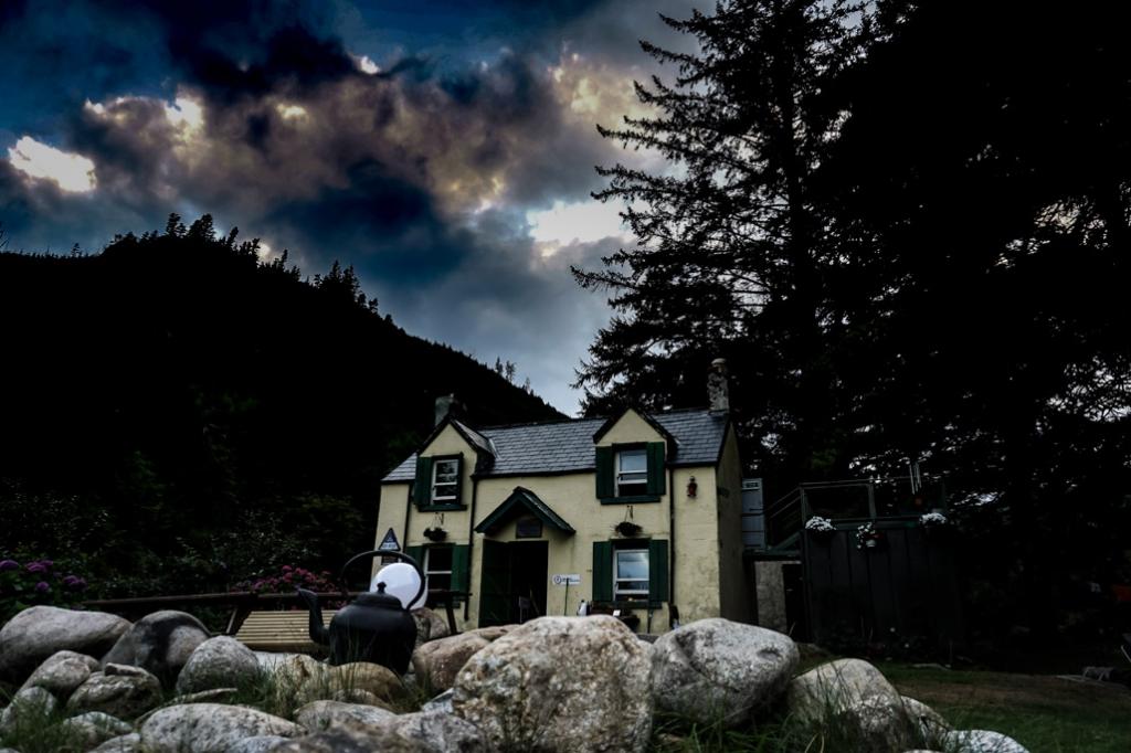 Haunted Glenmalure Hostel, Ireland.