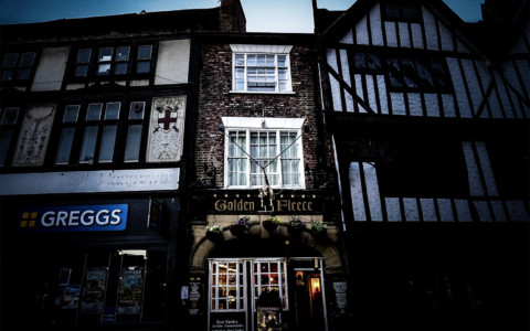 The Haunted Golden Fleece Inn York, England