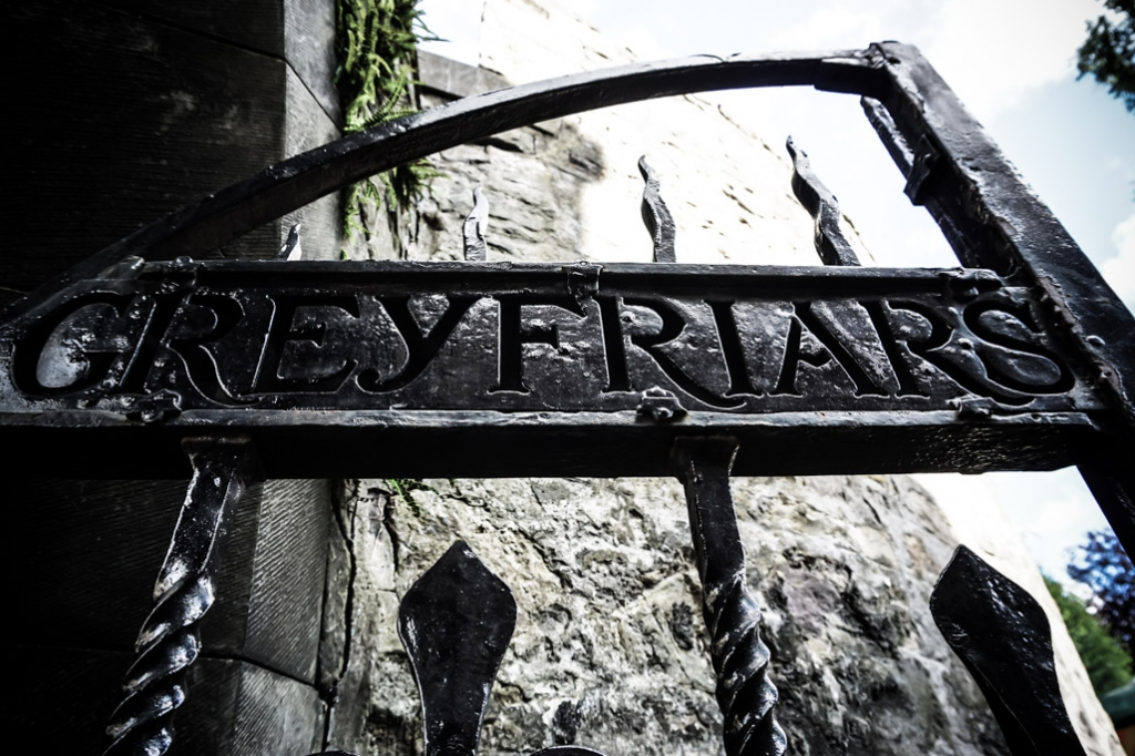 Haunted Greyfriars Kirkyard, Edinburgh, Scotland.