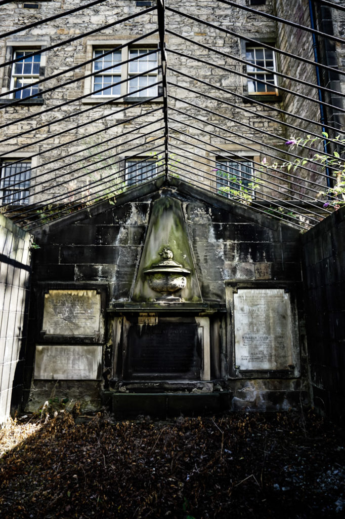 Haunted Greyfriars Kirkyard.