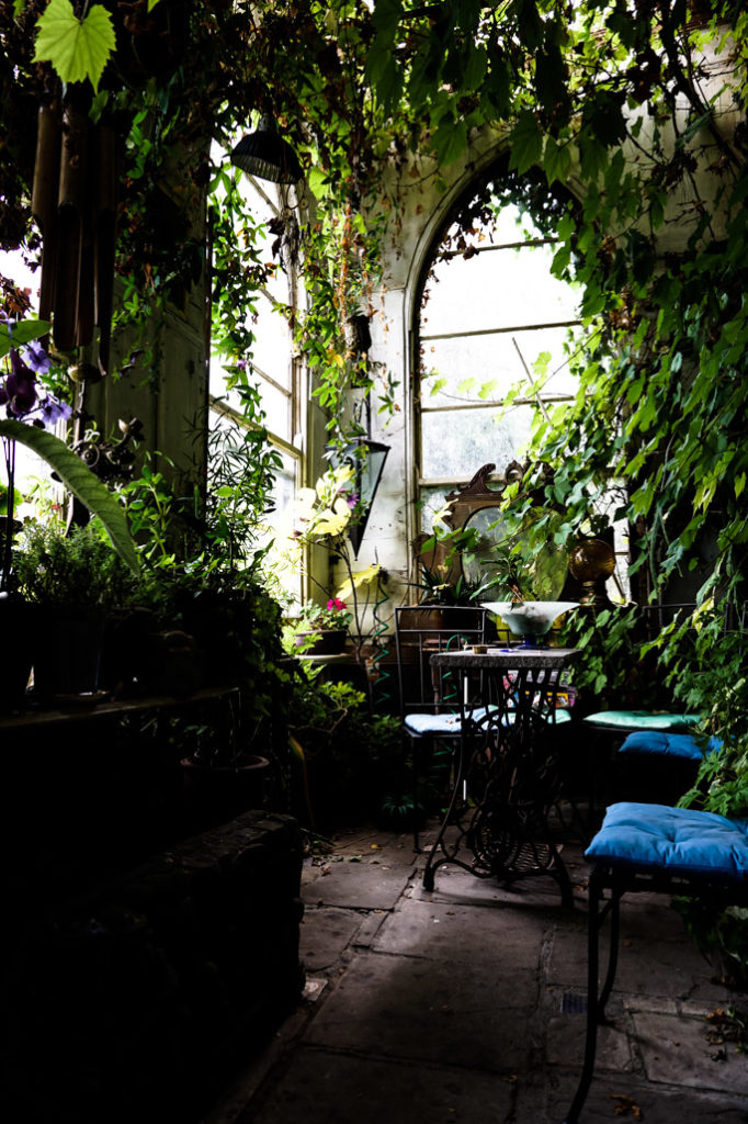 Sunroom inside Leap Castle.