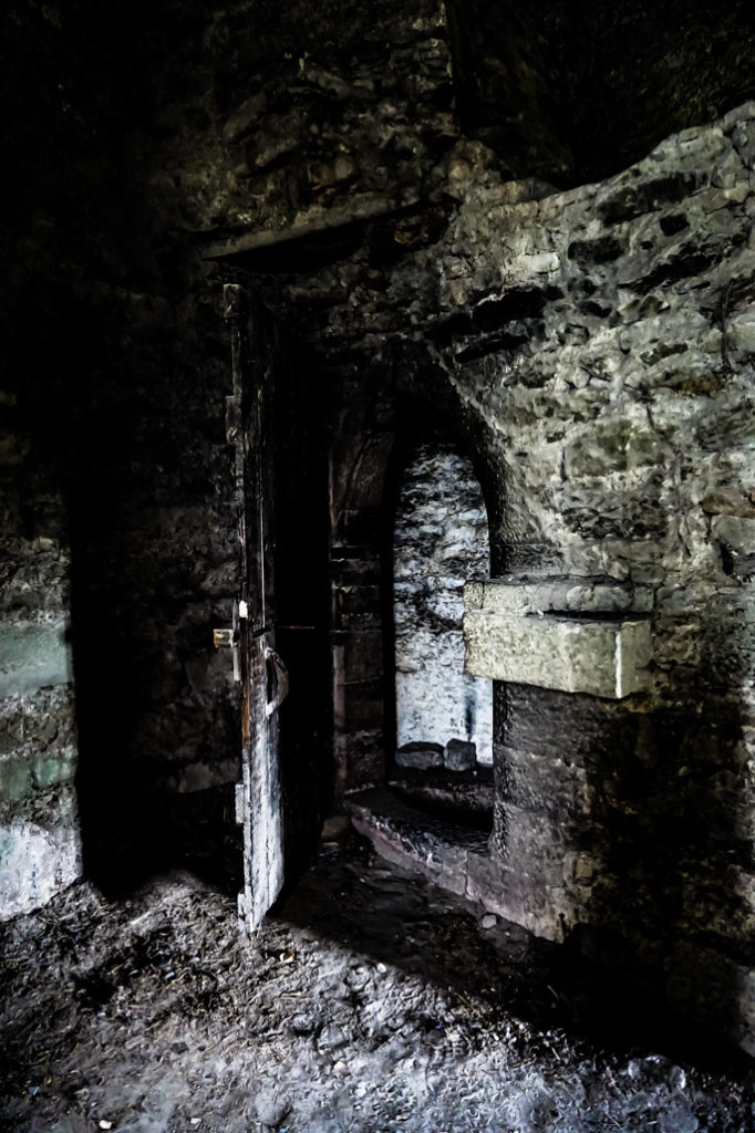 Bloody Chapel of Leap Castle, Ireland.
