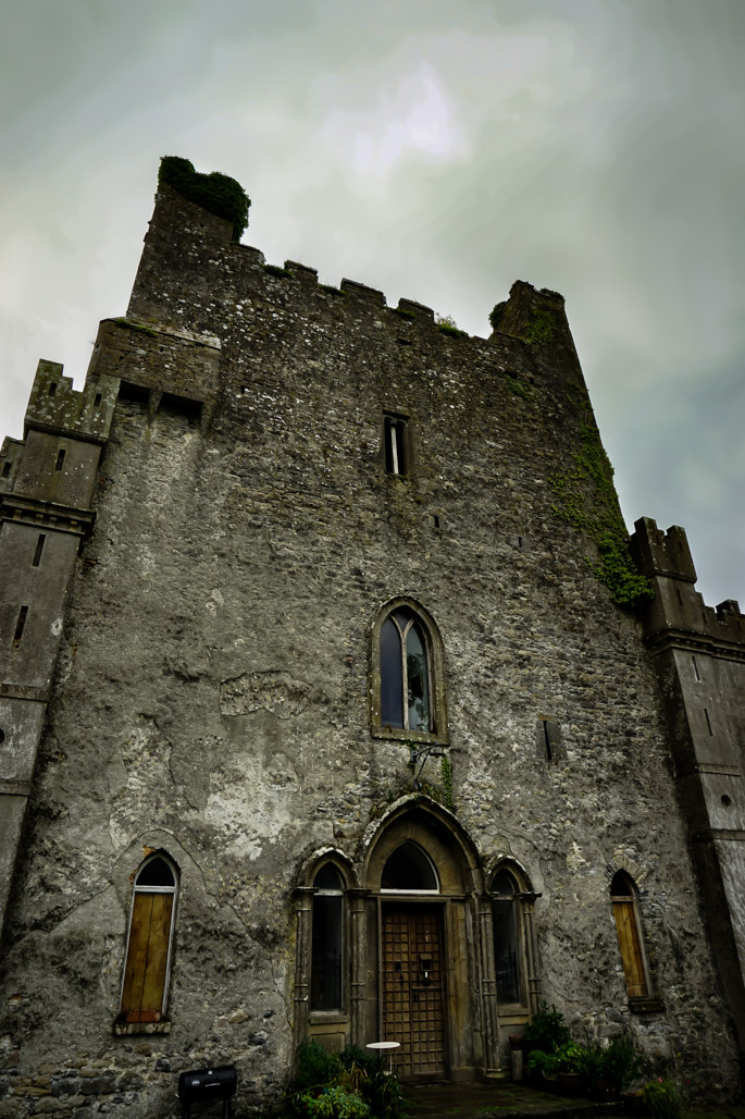Haunted Leap Castle, Ireland.