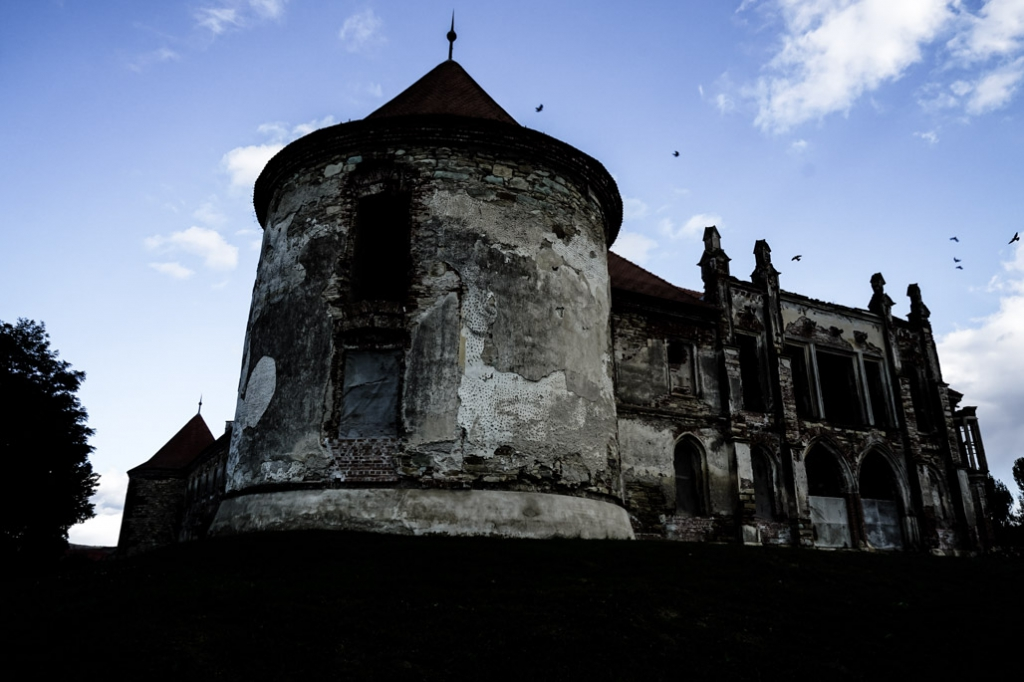 Banffy Castle haunted Romania.