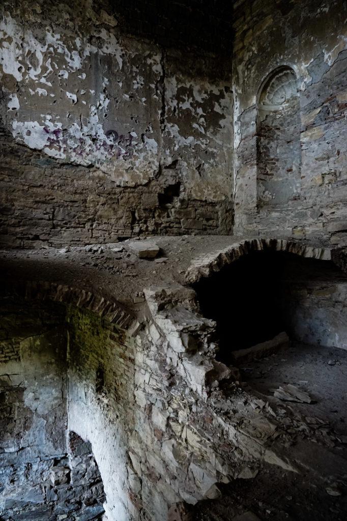 Banffy Castle ruins.