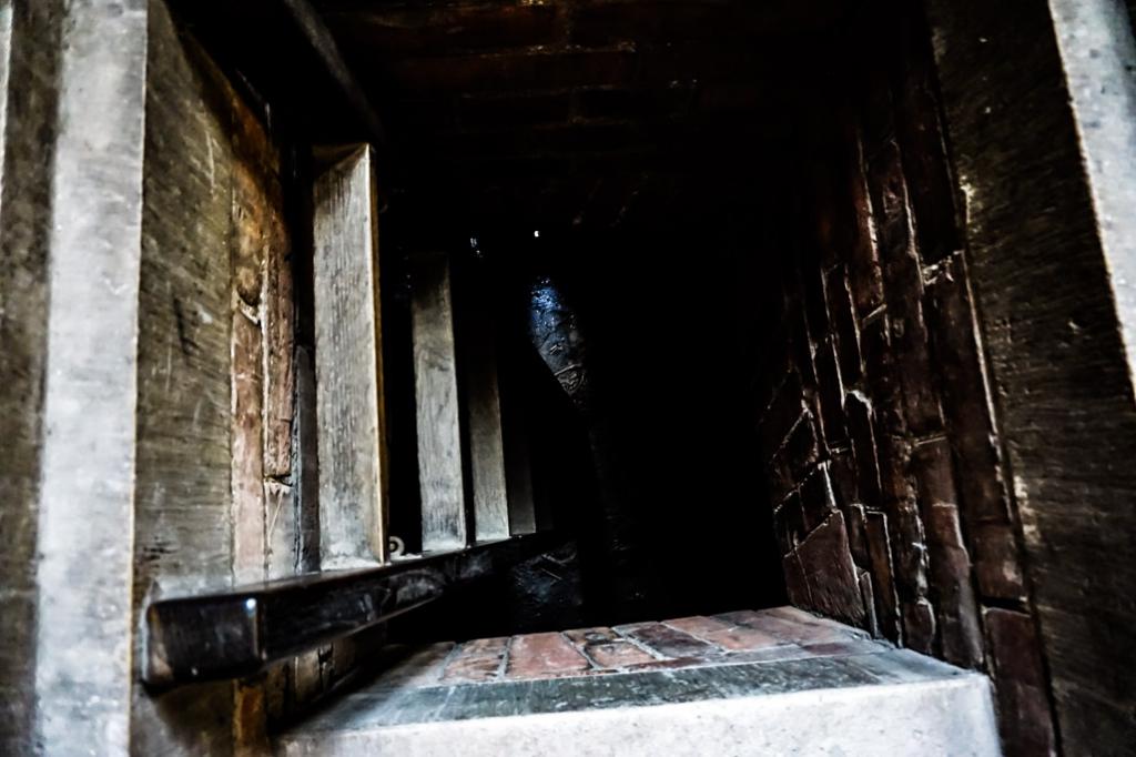 Cell that held Vlad Tepes prisoner at Corvin Castle.