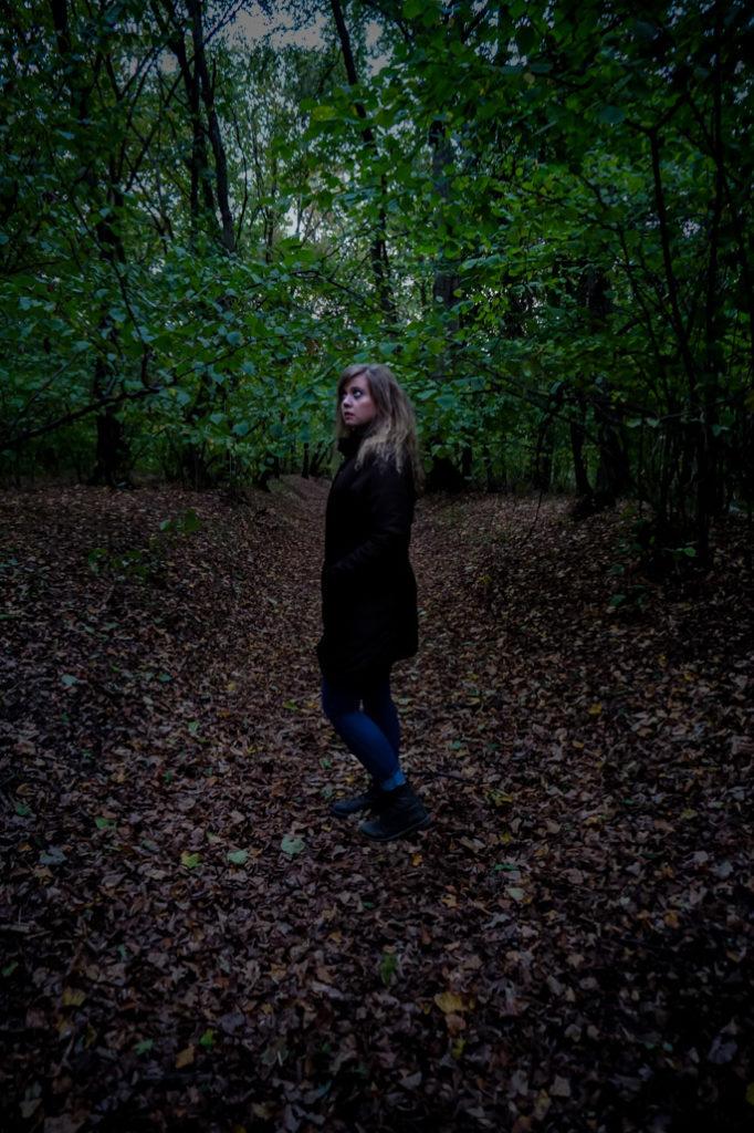 Mysterious Hoia Baciu Forest, Romania.