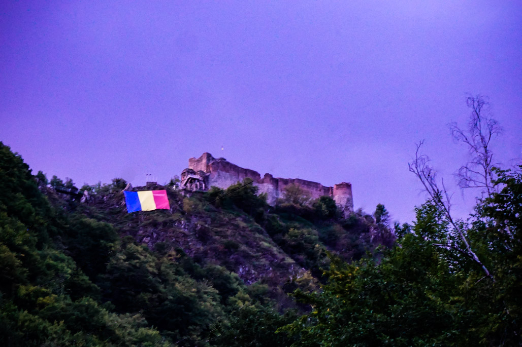 Poenari Fortress Romania.