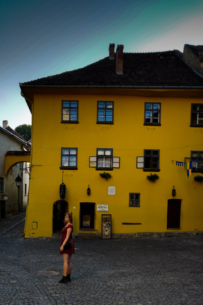 Sighisoara Vlad's birthplace.