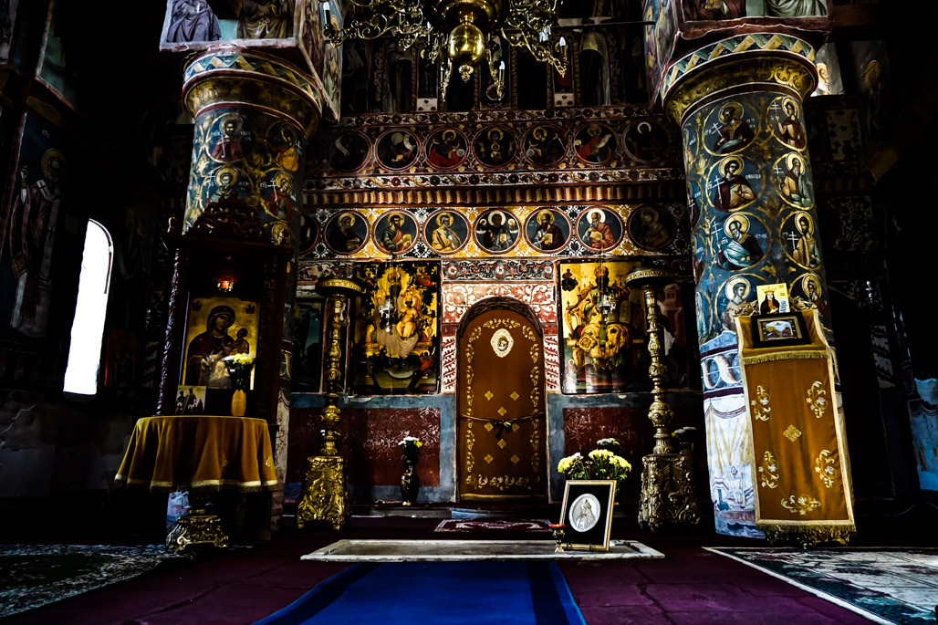 Creepy Church, Snagov Monastery.