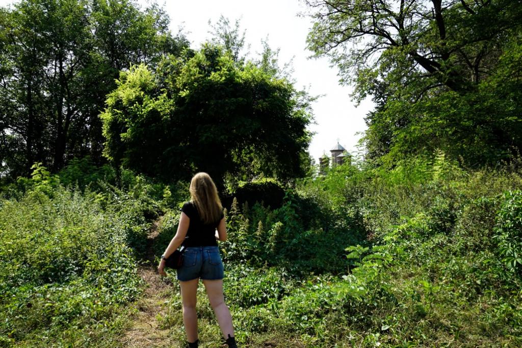 Exploring Snagov Island, Romania.
