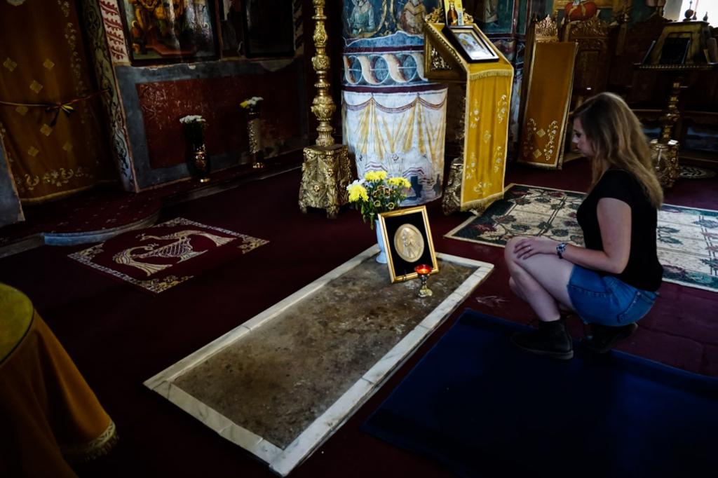 Snagov Monastery Dracula grave.