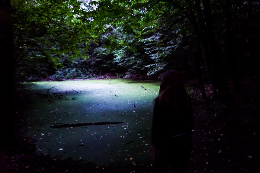 Finding the haunted Witches Pond in Bucharest, Romania.