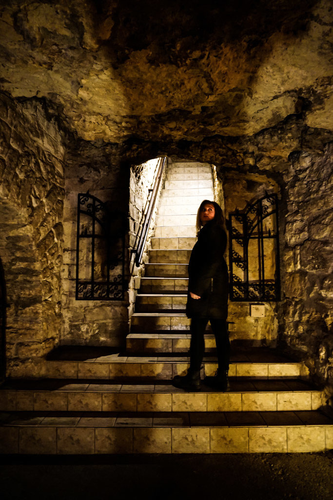 Buda Castle Labyrinth.