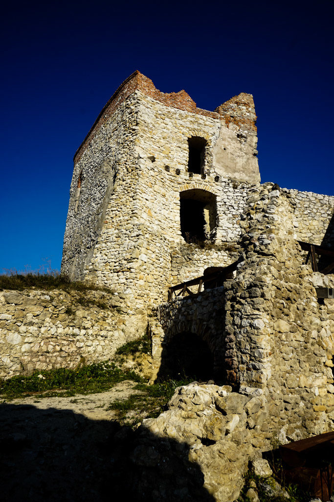 Tower of Čachtice Castle.