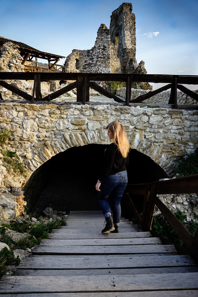 Underground Elizabeth Bathory Castle.