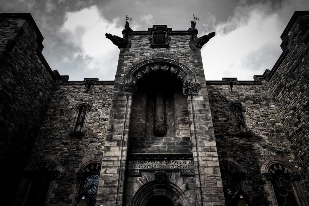 Haunted places in Edinburgh, Scotland.