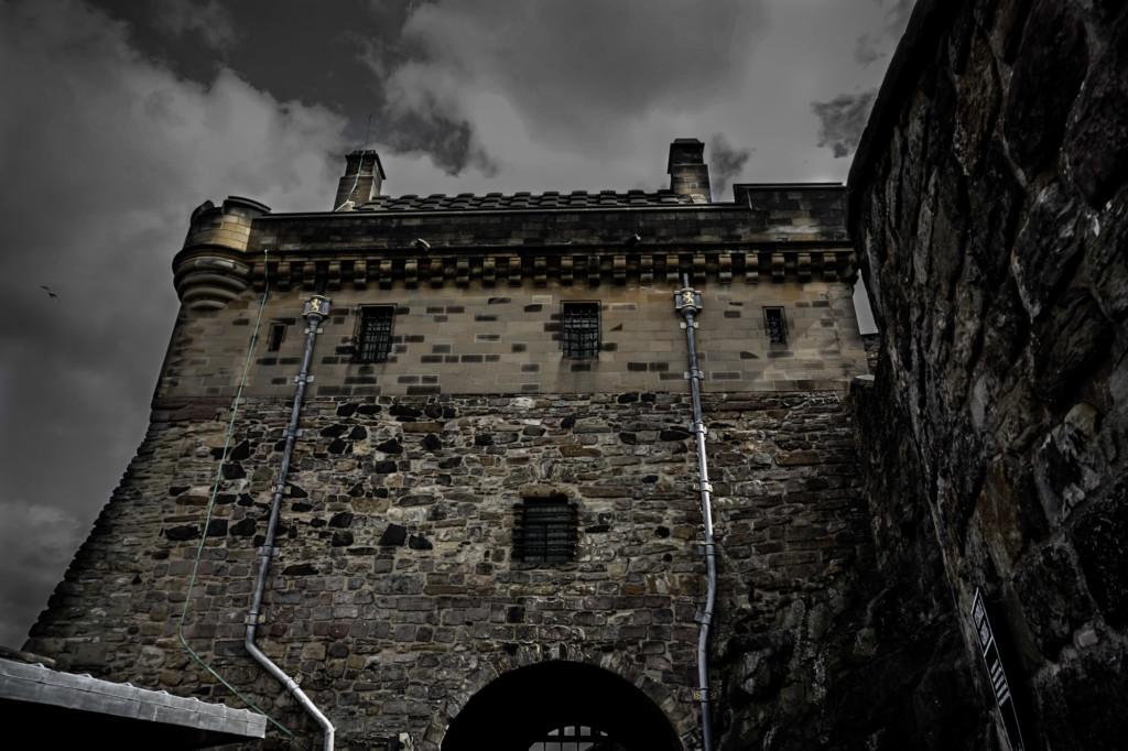 Edinburgh Castle, haunted places in Scotland.