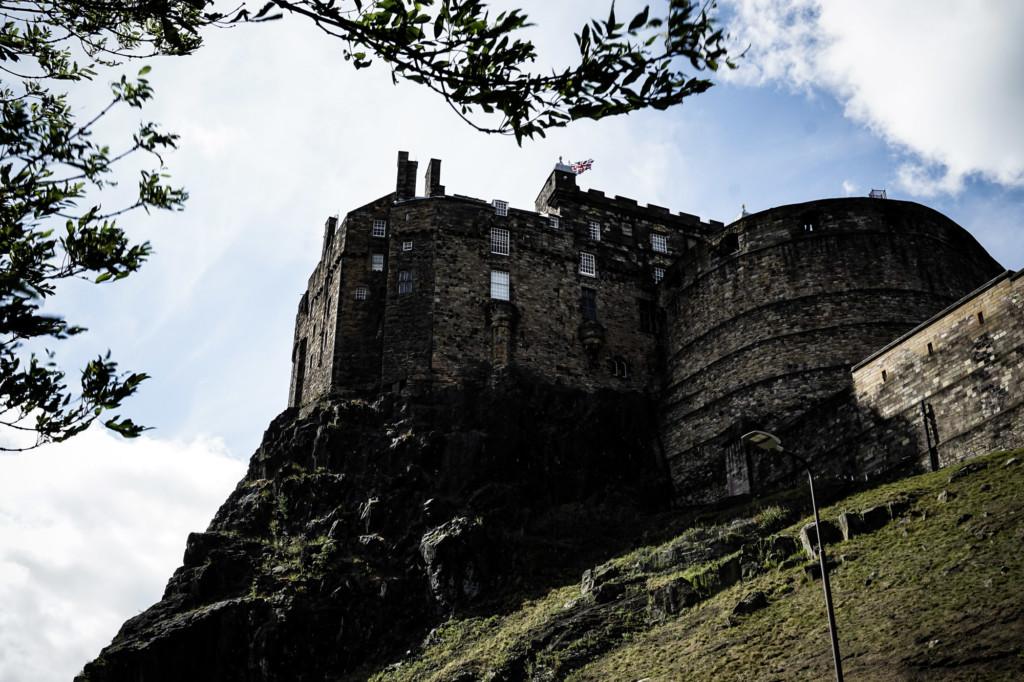 Haunted Edinburgh Castle, Scotland.