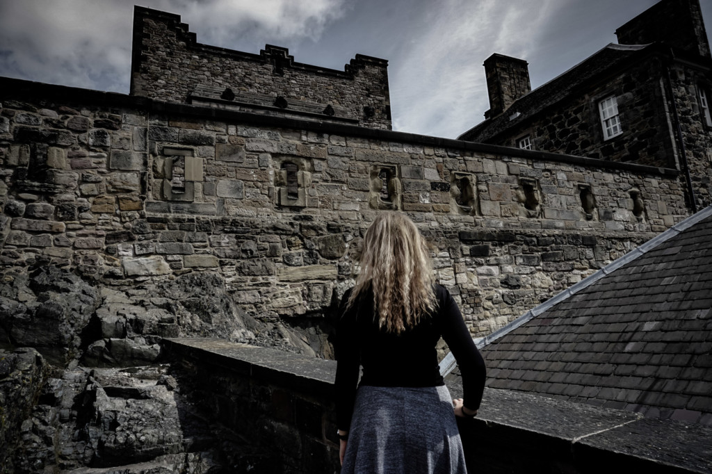 Looking for the ghosts of Scotland's most haunted castle.