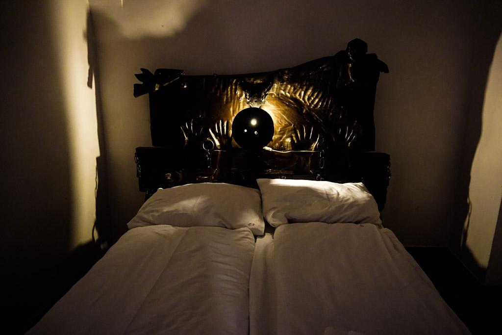 Torture room inside the Lagow Castle.