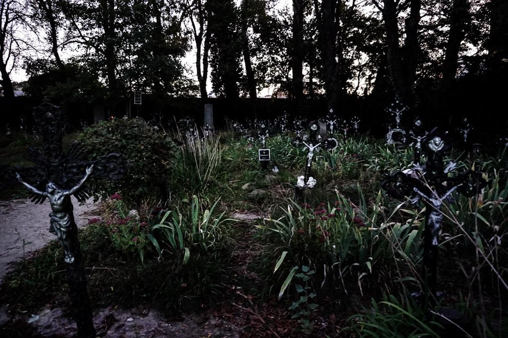Nameless Cemetery in Austria, Vienna.