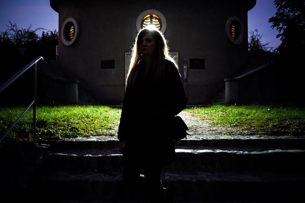 Haunted cemetery in Austria.