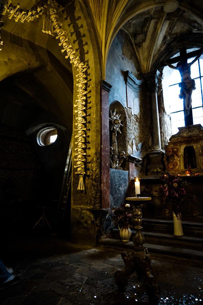 Bine church altar.
