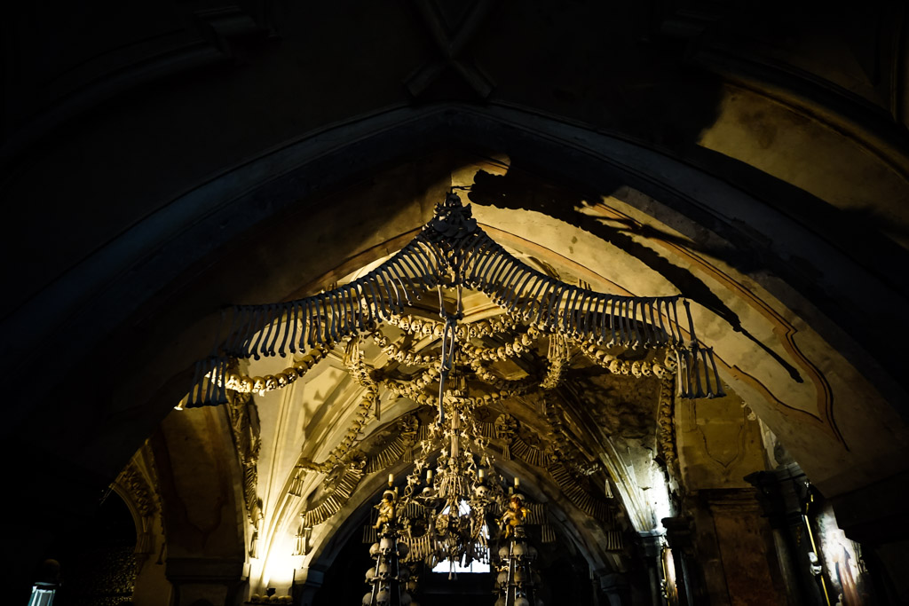 Sedlec Ossuary, bone church.