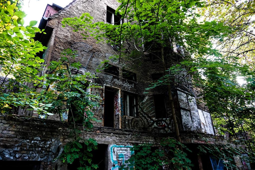 Berlin, Germany abandoned Children's Hospital.