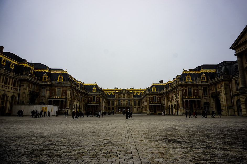 Palace of Versailles haunted.