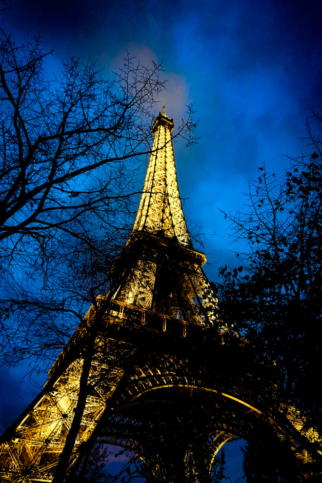 The haunted Eiffel Tower.