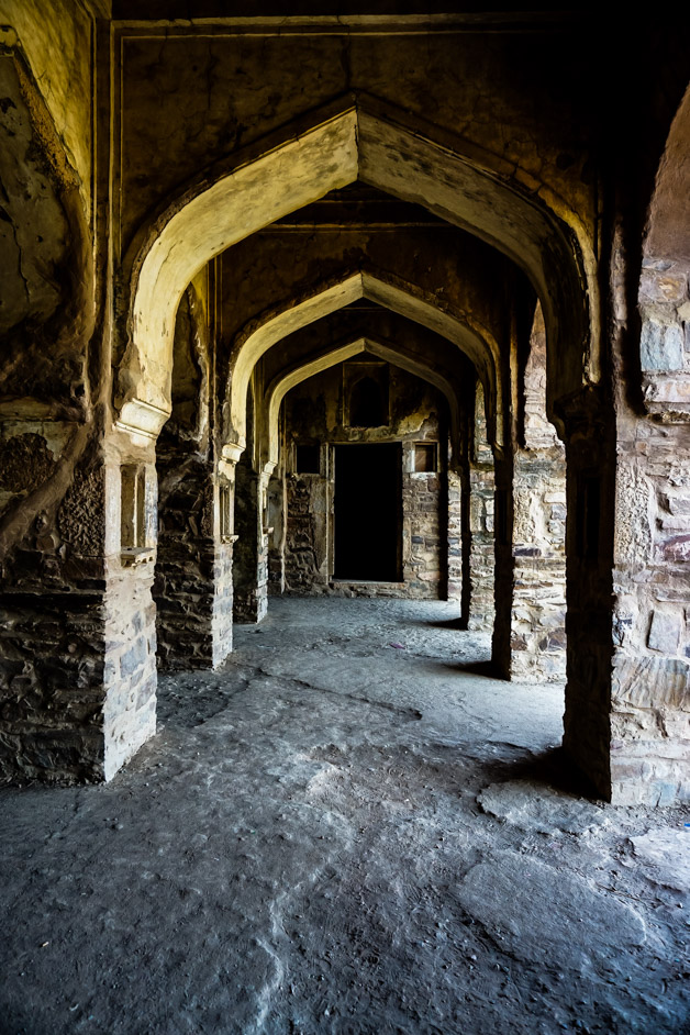 Haunted fort in India.