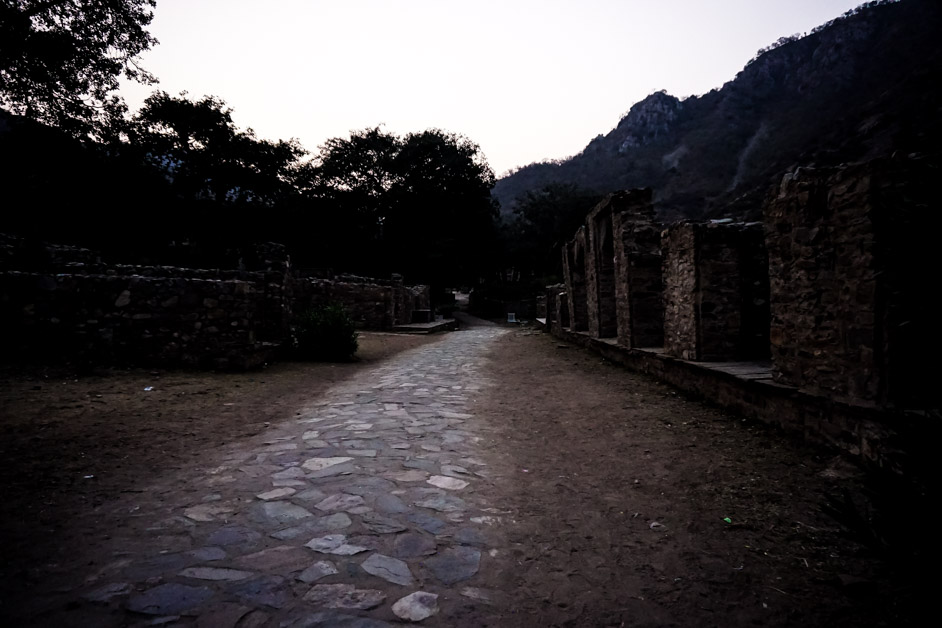 Bhangarh ghost town in India.