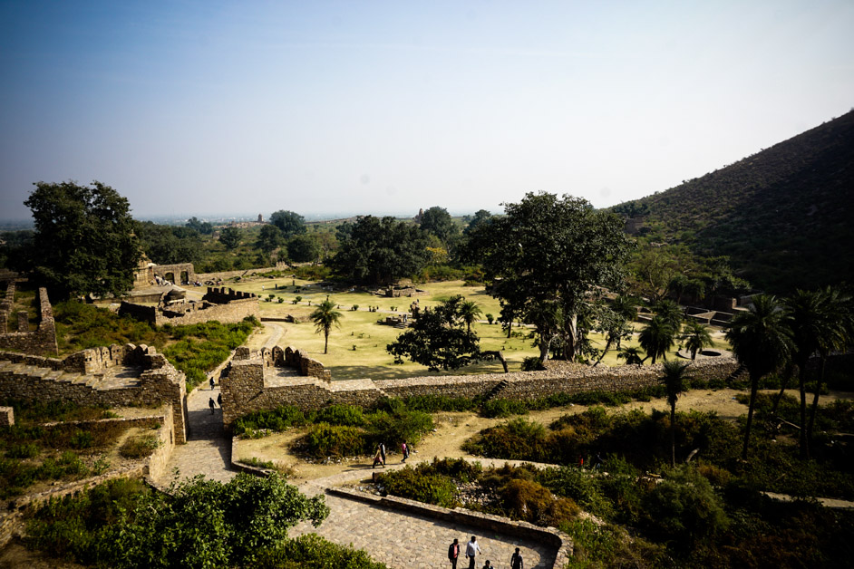 View from Bhangarh Fort.