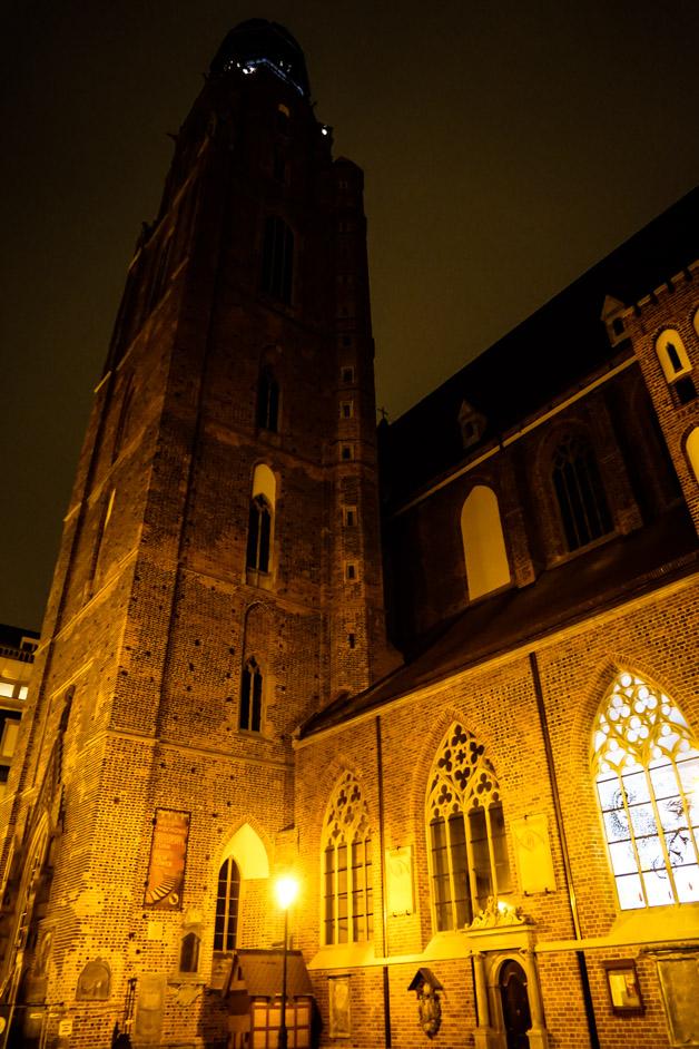 Church of St. Elizabeth in Wroclaw.