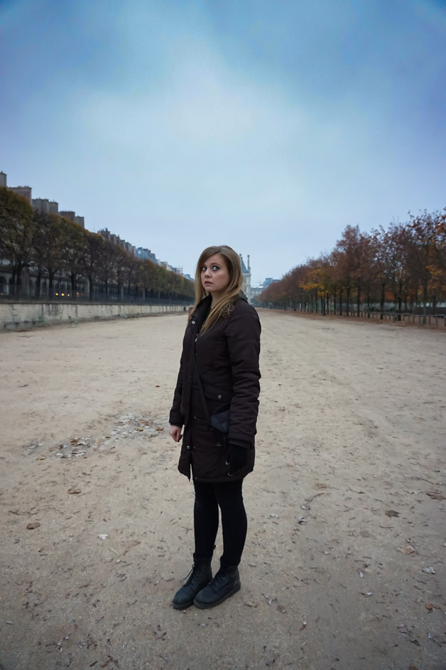 Is the Tuileries Garden in Paris haunted?