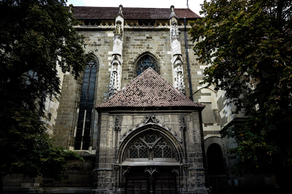 The Black Church of Brasov, Romania.