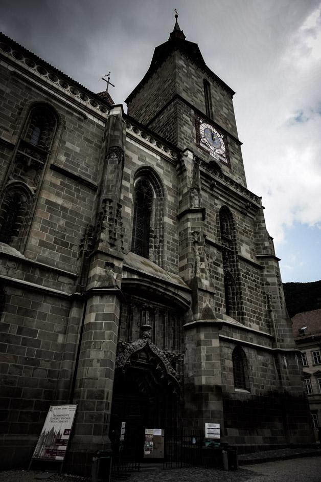 Brasov, Romania Black Church.