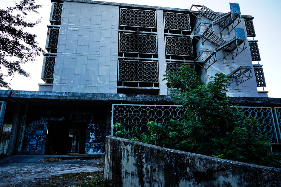 Hospital in the Philippines used in WWII and the Vietnam War.